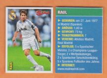 Real Madrid Raul Spain